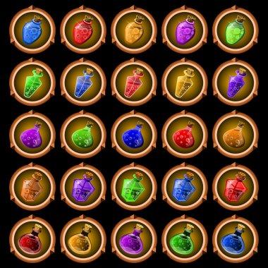 icons magic potions