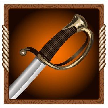 icon pirate swords