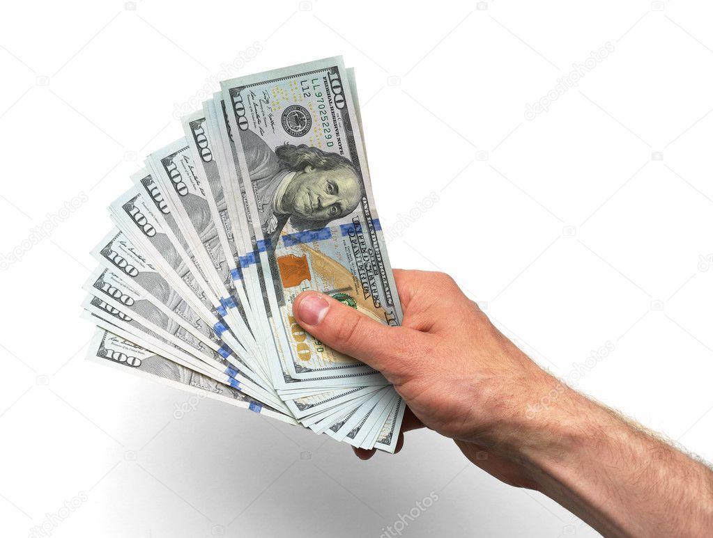 Tangan Membutuhkan Banyak 100 Uang Kertas Stok Foto C Artranq 72520283