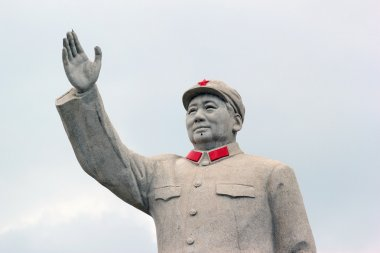 Statue of China's former Chairman Mao Zedong