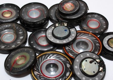 Many old speakers