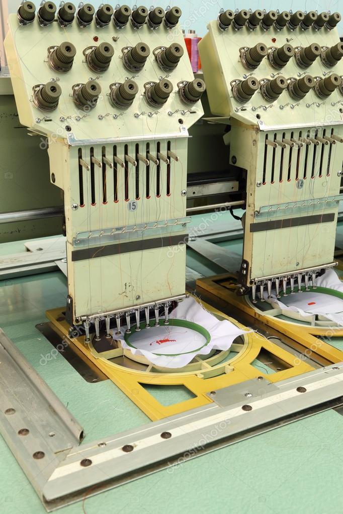 Machine embroider