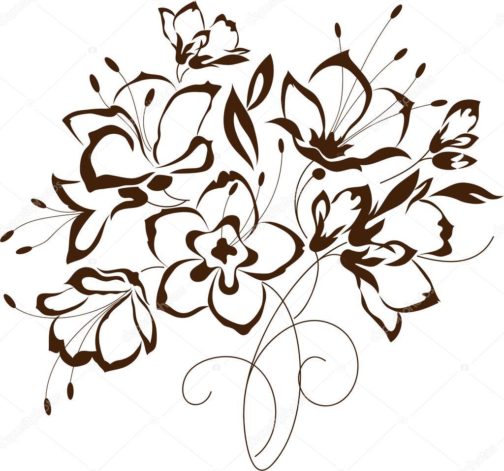 Appelsina 82398356 for Fiori stilizzati immagini