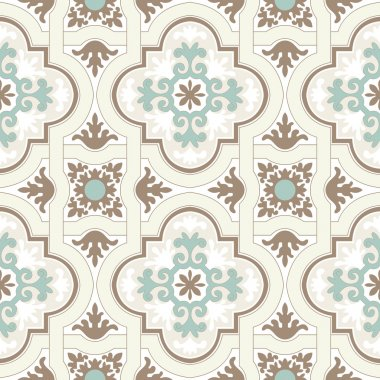 Background vintage flower. Seamless floral pattern. Abstract wallpaper. Texture royal vector. Fabric illustration. stock vector