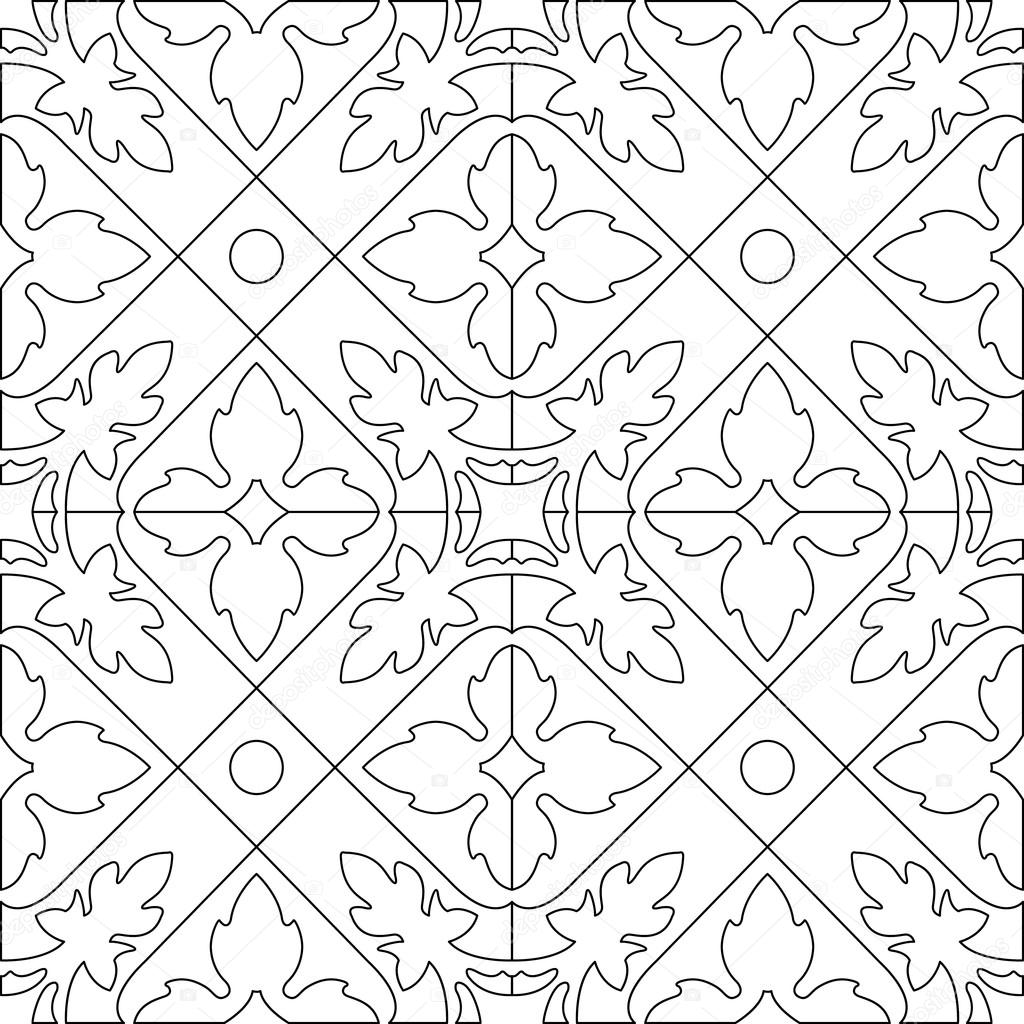 unique coloring book square page for adults seamless pattern tile design joy to older - Unique Coloring Books