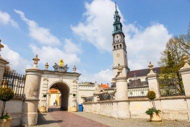 Czestochowa, Poland, 29 April 2015: Jasna Gora sanctuary in Czestochowa, Poland. Very important and most popular pilgrimary place in Poland