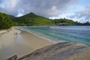 Baie Lazare, Mahe island, Seychelles