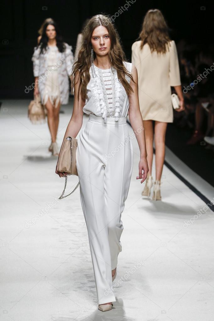 ac647dc89f Elisabetta Franchi fashion show – Stock Editorial Photo ...