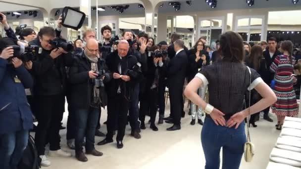 Chanel-Karte im Rahmen der Paris Fashion Week