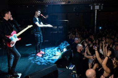 Amrerican concert tour of singer Dima Bilan