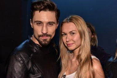 Dima Bilan and Katya White
