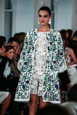Oscar De La Renta fashion show during Mercedes-Benz Fashion Week