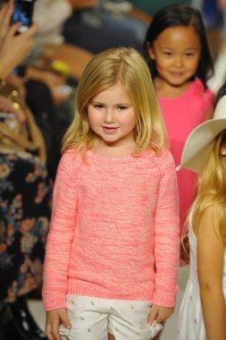 Chloe preview at petite PARADE Kids Fashion Week