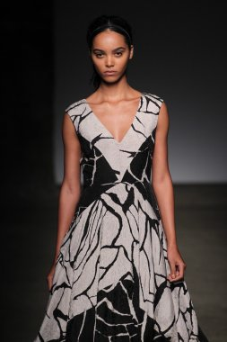 Tracy Reese during Mercedes-Benz Fashion Week