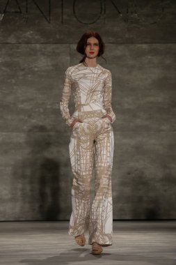 Luis Antonio fashion show during Mercedes-Benz Fashion Week