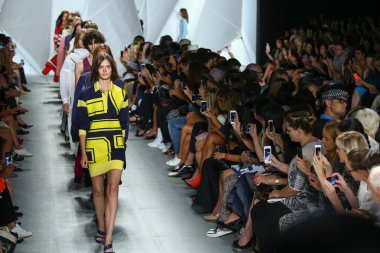 Finale at Lacoste during Mercedes-Benz Fashion Week