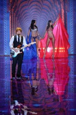 Ed Sheeran at the Victoria's Secret fashion show