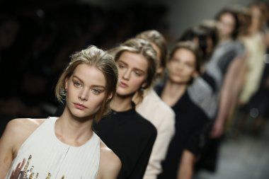 Bottega Veneta show as a part of Milan Fashion Week