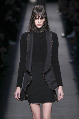 Model wearing Alexander Wang