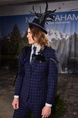 Nick Graham during New York Fashion Week