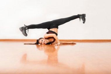 dancer standing upside down