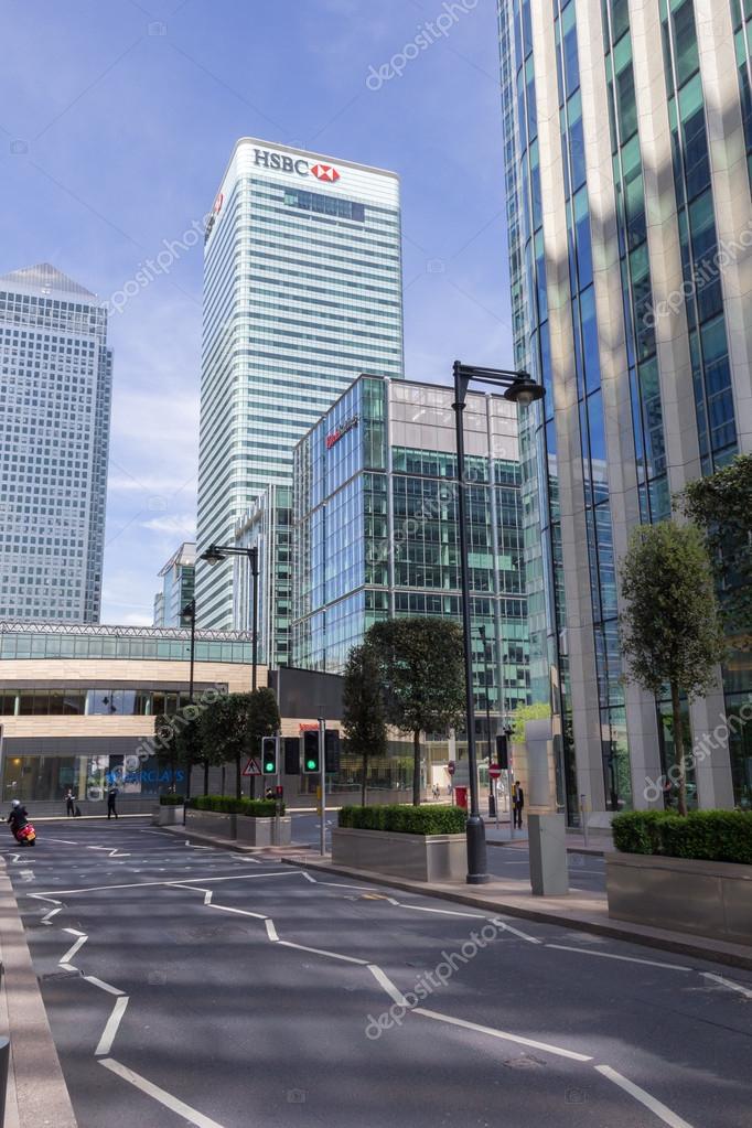 HSBC headquarters, London – Stock Editorial Photo