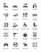 Fotografie Tourismus  Reisen Icons - Set 3