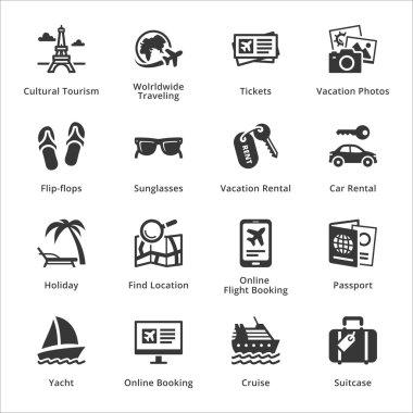 Tourism & Travel Icons - Set 5