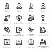 Photo Medical Services Icons Set 2 - Sympa Series | Black