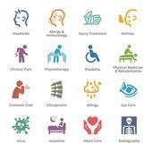 Condizioni di salute  malattie icone - Sympa serie | Colorato