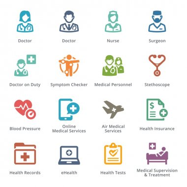 Medical Services Icons Set 2 - Sympa Series | Colored