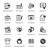 Fényképek E-kereskedelmi ikonok - szett 3