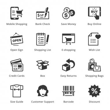 E-commerce Icons - Set 3