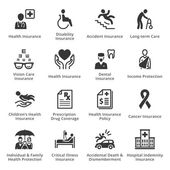 Photo Health Insurance Icons