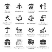 Photo Business Insurance Icons