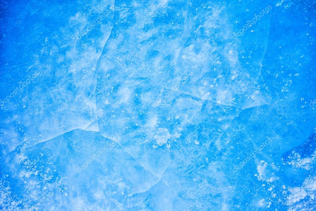 frozen rink winter background