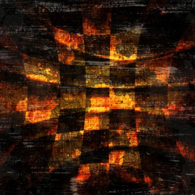 Abstract checkered grunge background