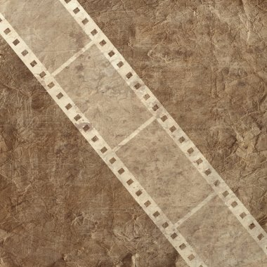Background with film stripe