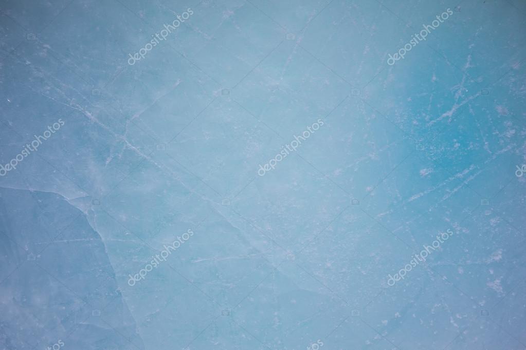 Frozen rink winter background