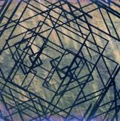 Fotografie abstraktní grunge čtverců pozadí