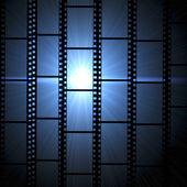 Fotogrammi di pellicola dellannata
