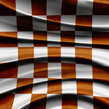 Orange racing Flag