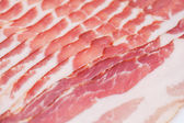 Photo Fresh raw bacon