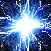 elektrický záblesk blesku