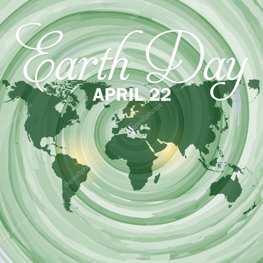 Watercolors background and world map april 22 earth day design watercolors background and world map april 22 earth day design archivo imgenes vectoriales gumiabroncs Images