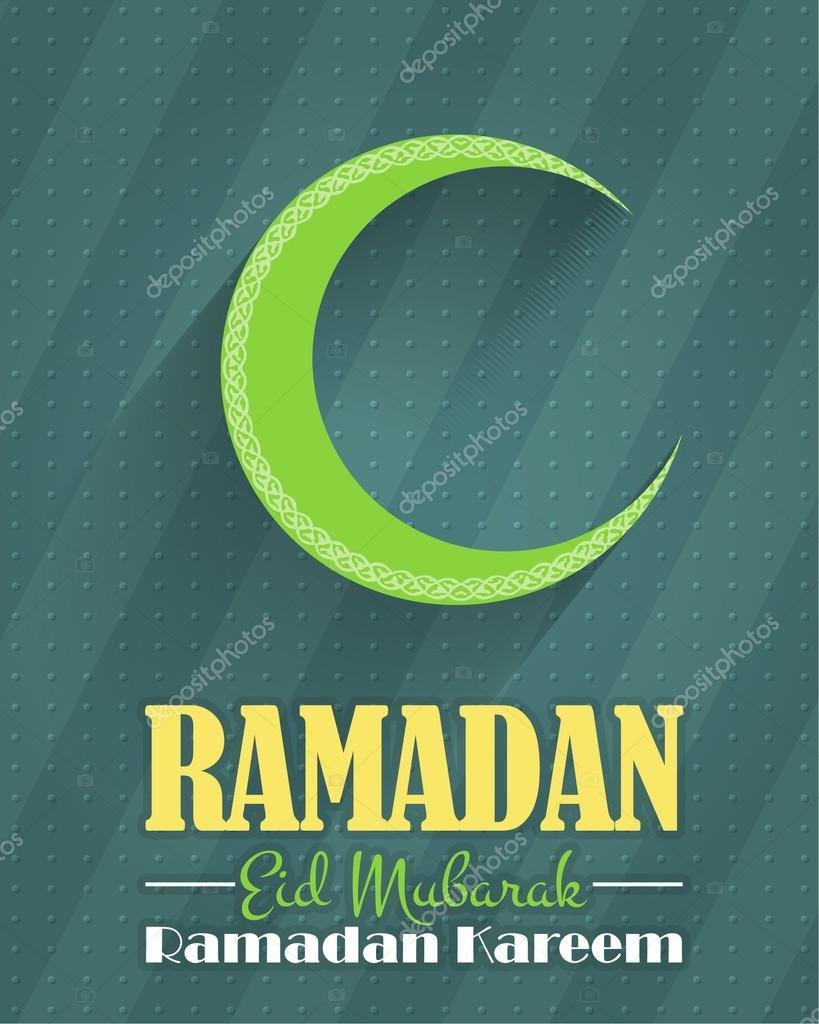 Islamic style decorative crescent moon symbol ramadan greeting islamic style decorative crescent moon symbol ramadan greeting card design arabic biocorpaavc Gallery