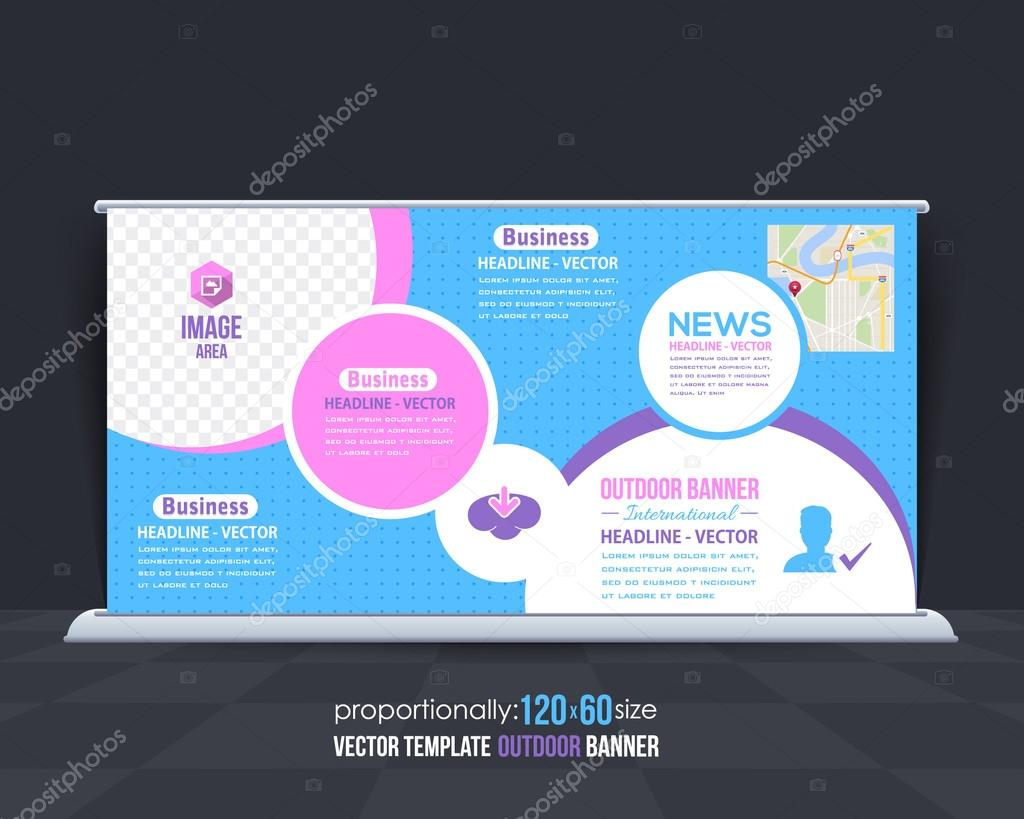 Multipurpose Business Theme Outdoor Banner Template Advertising