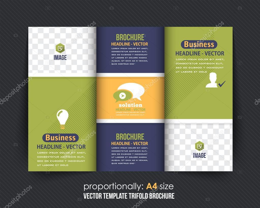 Multipurpose tri fold brochure design business catalog vector multipurpose tri fold brochure design business catalog vector template stock vector cheaphphosting Images