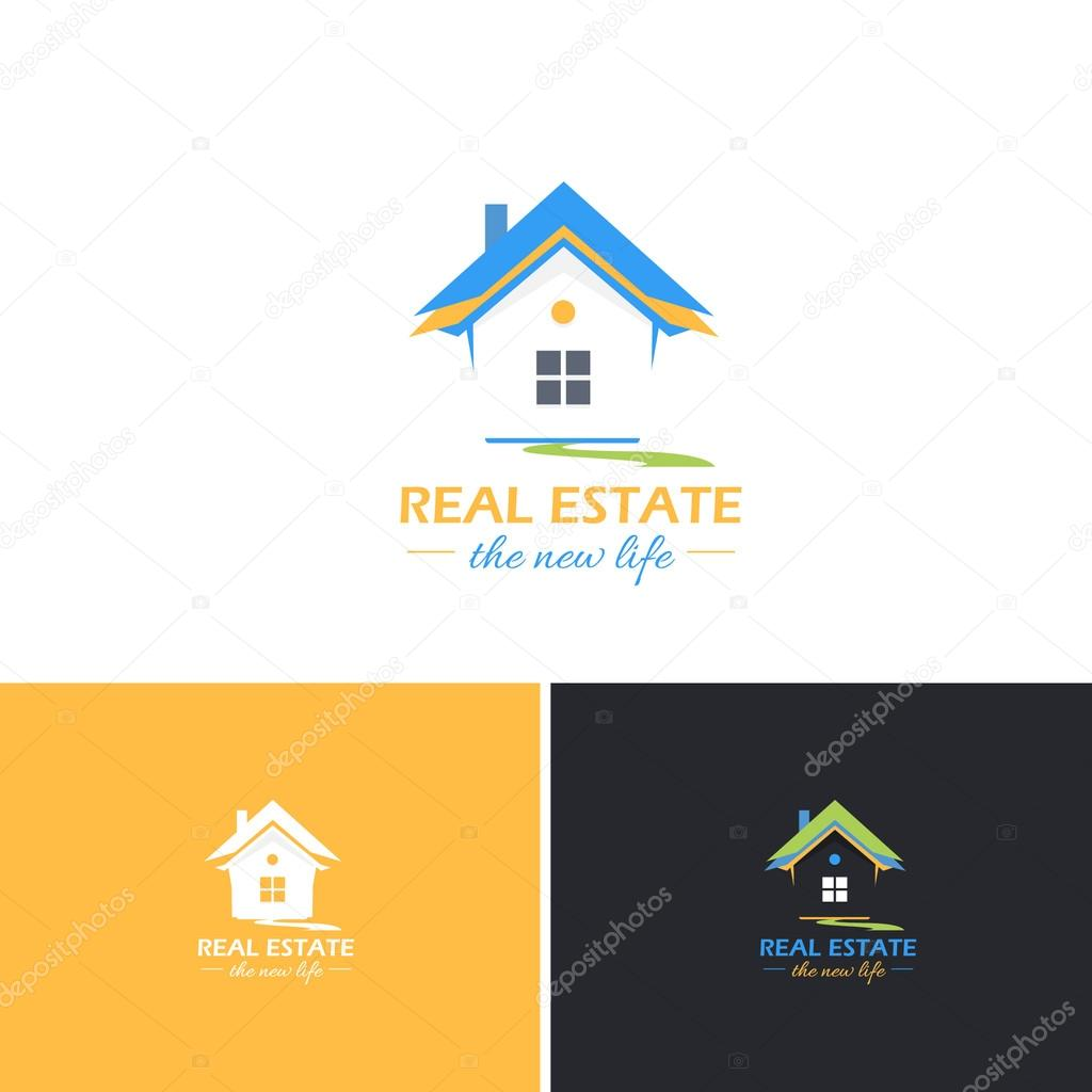 Real Estate Vector Icons Logos Sign Symbol Template Image