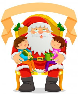 Santa Clause and kids